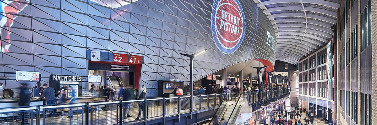 Little Caesar's Arena Featured Project