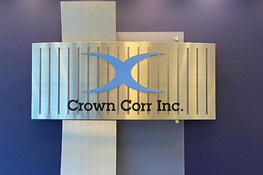 Crown Corr Sign