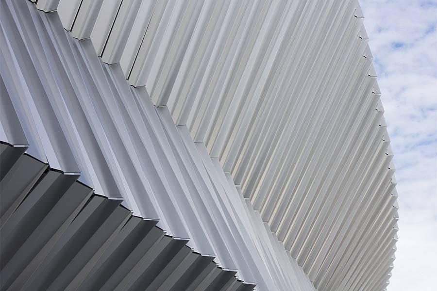 Nassau Coliseum Exterior Close Up